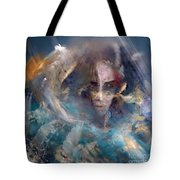 Angels We Invite You Here Tote Bag