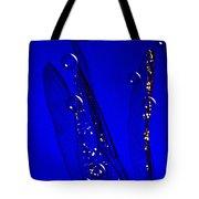 Angels Wings Blue Tote Bag