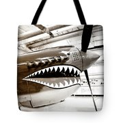 Anger Management Bw Palm Springs Air Museum Tote Bag