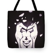 Anger The Break Up Tote Bag