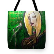 Angie Stevens Solo Tote Bag
