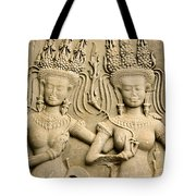 Angkor Wat Relief Tote Bag