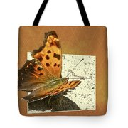 Anglewing Butterfly Tote Bag