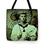 Anglo Sailor In China Ca 1890 Tote Bag