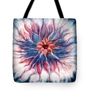 Angora Bloom Tote Bag