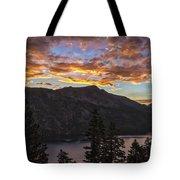 Angora Ridge Sunset 9 Tote Bag