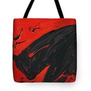 Angry Bull 2 Tote Bag