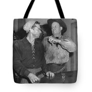 Angry Cowboy In A Bar Tote Bag