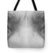 Angry Eyes Tote Bag