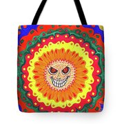 Angry Flower Tote Bag