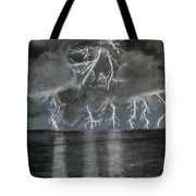 Angry Skies Tote Bag