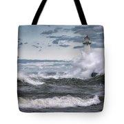 Angry Waters Of Lake Ontario Tote Bag