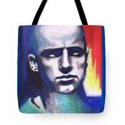 Angry Young Man Tote Bag