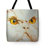 Angry Cat. Tote Bag