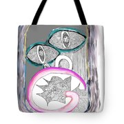 Angry_face_2 Tote Bag