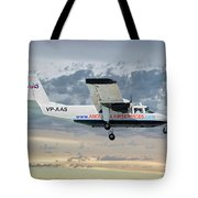 Anguilla Air Services Britten-norman Bn-2a-26 Islander 114 Tote Bag