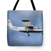 Anguilla Air Services Britten-norman Bn-2a-26 Islander 117 Tote Bag