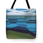 Angular Lake Tote Bag