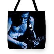 Angus Rocks The Blues Tote Bag