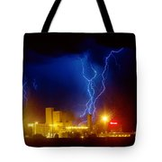 Anheuser-busch On Strikes Tote Bag