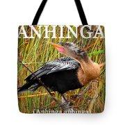 Anhinga The Swimming Bird Tote Bag