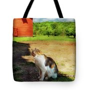 Animal - Cat - The Mouser Tote Bag