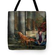 Animal - Dog - Hello There Tote Bag