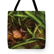 Animal - Wild - Cute Little Chipmunk  Tote Bag