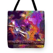 Animal Bird Leaves Nature Perched  Tote Bag