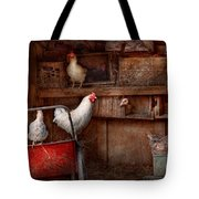 Animal - Chicken - The Duck Is A Spy  Tote Bag