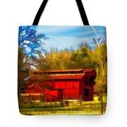 Animal Farm Painting Tote Bag