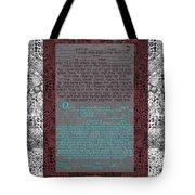 Animal  Ketubah- Reformed And Interfaith Version Tote Bag