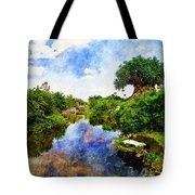 Animal Kingdom Tranquility Tote Bag