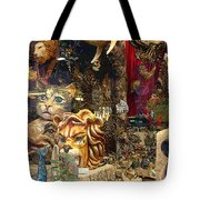 Animal Masks From Venice Tote Bag