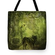Animal Sprits - The Wolf Tote Bag