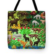 Animal Tapestry Tote Bag
