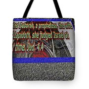 Animals As Art With Text Tote Bag