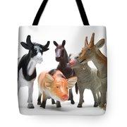 Animals Figurines Tote Bag