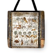Animals Past And Present Tote Bag
