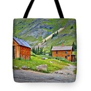 Animas Forks Ghost Town Tote Bag