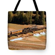 Animas River Crossing Tote Bag