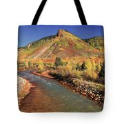 Animas River In Silverton Tote Bag