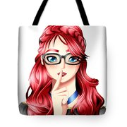 Anime Girl Tote Bag