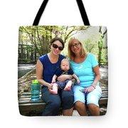 Anita, Amanda And Dominic Tote Bag