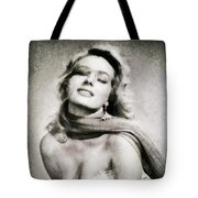 Anita Ekberg, Hollywood Legend By John Springfield Tote Bag