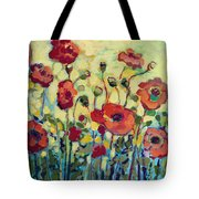 Anitas Poppies Tote Bag by Jennifer Lommers