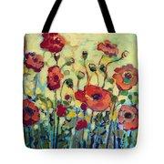 Anitas Poppies Tote Bag