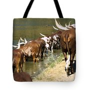 Ankole-watusi Cattle Tote Bag