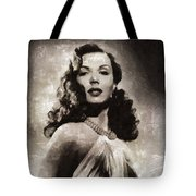 Ann Miller, Vintage Actress Tote Bag