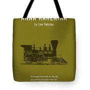 Anna Karenina By Leo Tolstoy Greatest Books Ever Series 024 Tote Bag